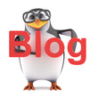 Academic penguin has his own blog