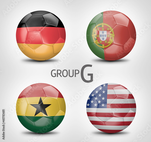 Group G - Germany, Portugal, Ghana, USA (Brazil 2014)