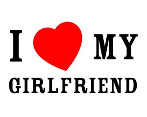 J'aime ma petite-amie