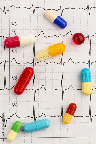 tablets on an ecg