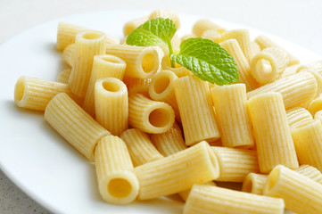 cooked penne rigate