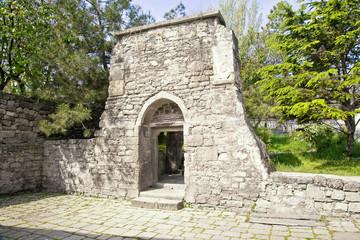 Ancient church building