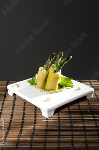 cannelloni with asparagus