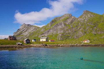 Village on Lofoten