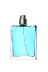 men's perfume in beautiful bottle isolated