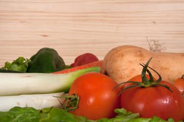 Verduras horizontal