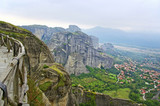 Big mountains in Meteora.