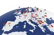 Europe map - 60791612
