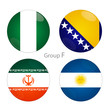 Group F - Nigeria, Bosnia, Iran, Argentina