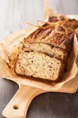 Homemade bread cake. Gluten-free