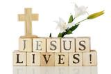 Fototapety Jesus Lives!