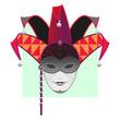 Carnival Mask-Masquerade,Mardi Gras,Jester