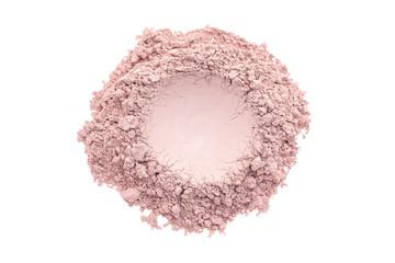 Pink makeup powder