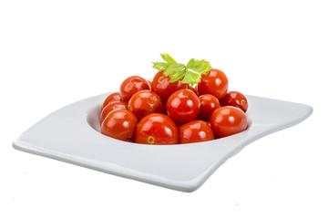 Marinated cherry tomato