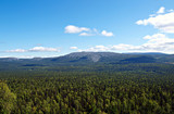 Ural mountains in summer. Russia