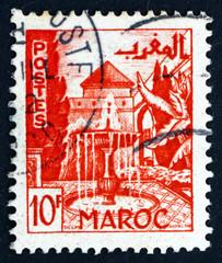 MOROCCO - CIRCA 1949 Garden, Meknes