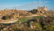 Toledo in morning light - Alcazar and cathedral