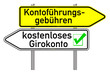 Wegweiser - kostenloses Girokonto