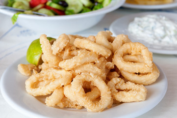 Squid rings