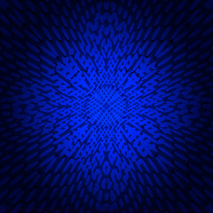 Background abstract blue fractal