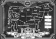 Vintage Blackboard of Spanish Cut of Beef