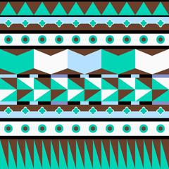 Vector seamless background, geometric pattern
