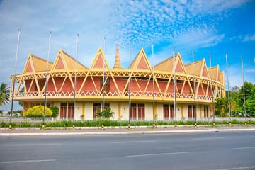 Chaktomuk Conference Hall, Phnom Penh, Cambodia.