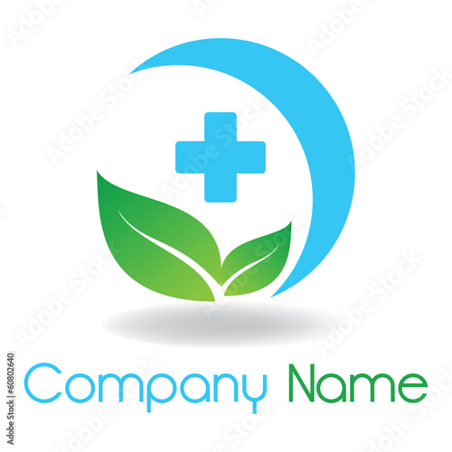 medical logo emblem vector