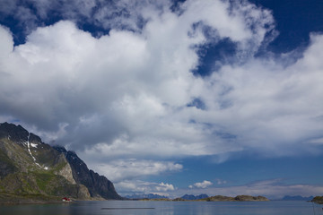 Clouds above Lofoten