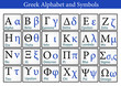 Greek Alphabet and Symbols