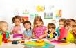 Leinwandbild Motiv Creative kids class