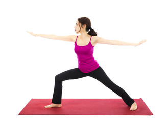Warrior II Pose in Yoga