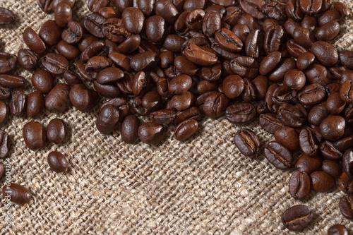 Papiers peints Café en grains Roasted coffee beans