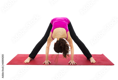 Wide Legged Forward Bend Pose in Yoga