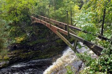 世界遺産地域ニュー・ラナークの橋