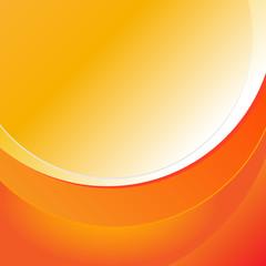Szablon pomarańczowe okręgi