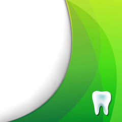 Green Wallpaper With Tooth
