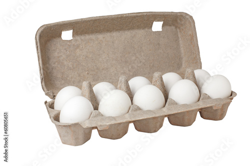 Eggs in a case