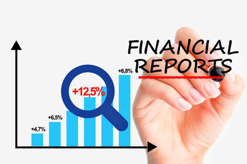 Financial controlling reports