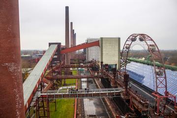Coking plant at Zeche Zollverein Coal Mine