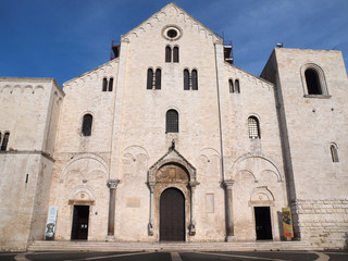 The Basilica of Saint Nicholas in Bari, Italy.