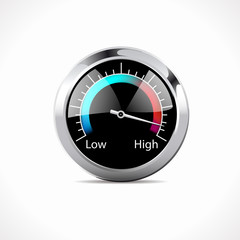 Speedometer - Low - High