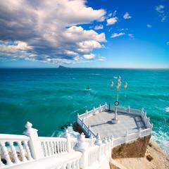 Benidorm balcon del Mediterraneo Mediterranean sea