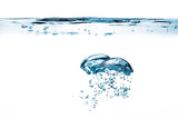 Oxygen Bubbles. Healthy Fresh Water