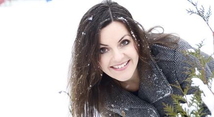 Winter Frau Schnee
