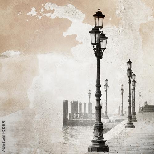 Vintage image of Venice - 60808893