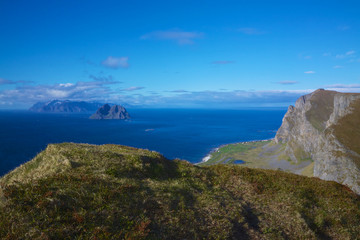 Cliffs on Lofoten
