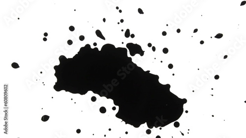 Ink Drops and splatters