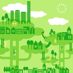 緑の街と暮らし