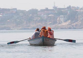 Varanasi-Bootsfahrt